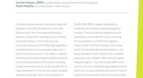 Landing in the EU – The importance of choosing the right experts for EU/EEA QPPV