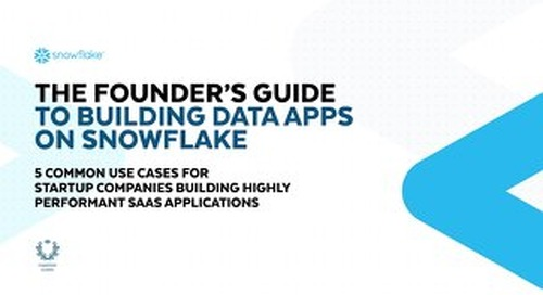 The Founder's Guide to Building Data Apps on Snowflake