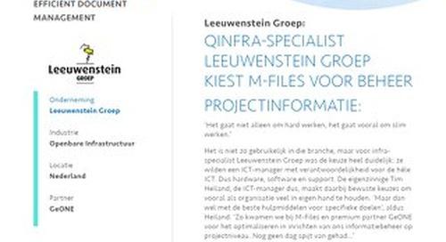 Case Study: Leeuwenstein Groep
