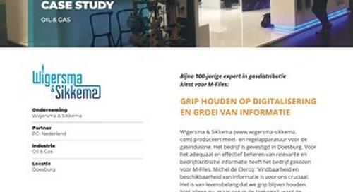 Case Study: Wigersma Sikkema