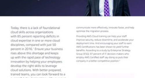 Train your teams to accelerate cloud migration