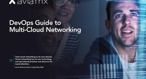DevOps Guide to Multi-Cloud Networking