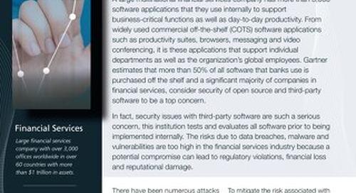 Financial Services Case Study CodeSentry GrammaTech