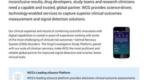 WCG's Virgil Investigative Study Platform