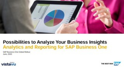 Analytics & Reporting for SAP Business One