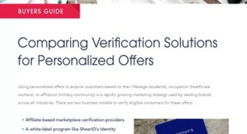 Comparing Verification Solutions for Personalized Offers