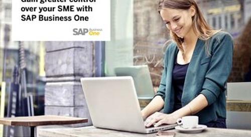 SAP Business One | VistaVu Solution Brief