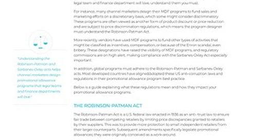 Promotional Allowance Program Regulations_US