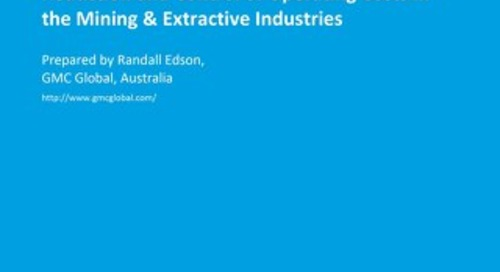 Reduction and Control of Operating Costs in the Mining & Extractive Industries