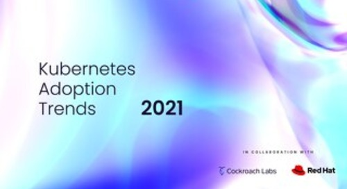 Kubernetes Adoption Trends   Cockroach Labs