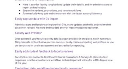 Watermark Faculty Success Flyer