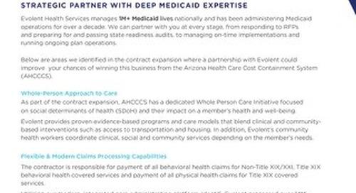 Arizona Medicaid RFP