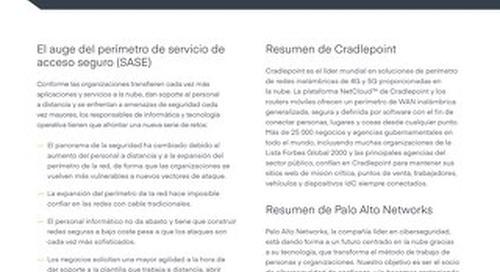 Palo Alto Solution Brief - Spanish (EU)