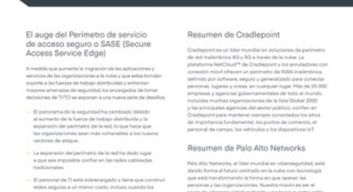 Palo Alto Solution Brief - Spanish (LA)