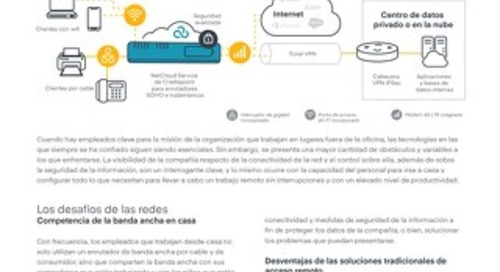 Secure Cloud-Controlled Network to Enable Work from Home - Spanish (LA)
