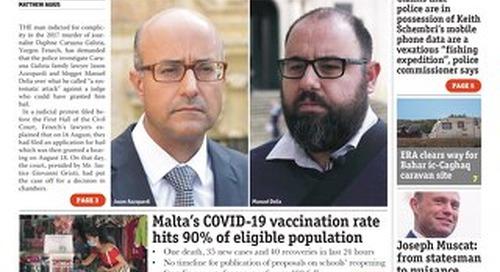 MaltaToday 25 August 2021 MIDWEEK