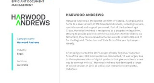 Case Study: Harwood Andrews