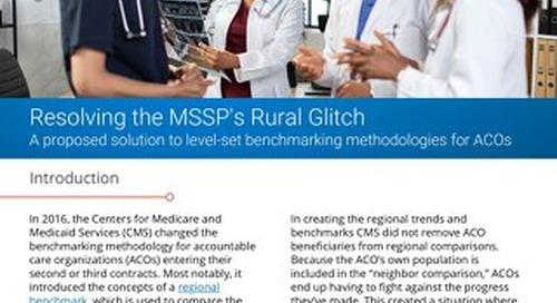 Resolving the MSSP's Rural Glitch