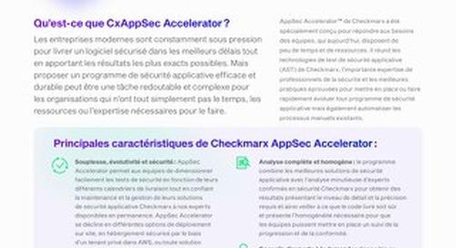 AppSec Accelerator - French - Datasheet - 2021