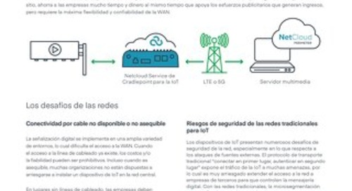 Connecting Remote Control of Digital Signage - Spanish (LA)