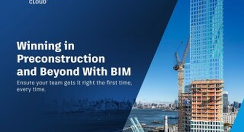 Winning in Preconstruction and Beyond with BIM