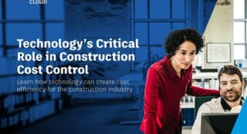 Technology's Critical Role in Construction Cost Management