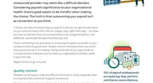 The Benefits of In-House Payroll Processing