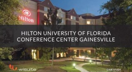 Case Study: Hilton University of Florida Conference Center Gainesville