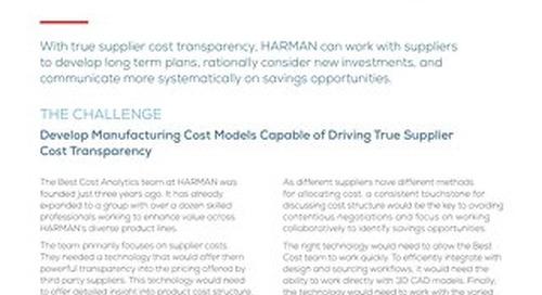 Harman Case Study