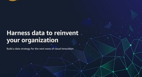 Harness data to reinvent your organization