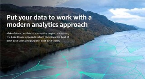 Put your data to work with a modern analytics approach