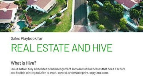 Real Estate and PaperCut Hive