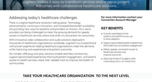 Healthcare Solutions from Logitech