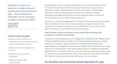 Rationalize Your App Portfolio with VMware App Navigator