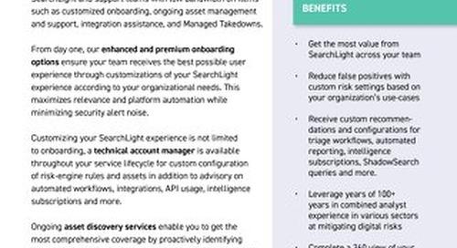 Digital Shadows Advisory Services