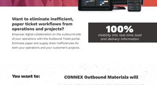 CONNEX Outbound Materials
