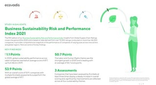 [Infographic] Business Sustainability Risk and Performance Index 2021