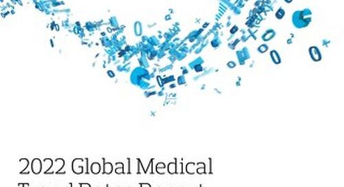 2022 Global Medical Trend Rates Report