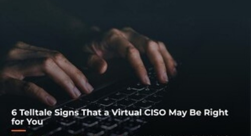6 Telltale Signs a Virtual CISO May Be Right for You