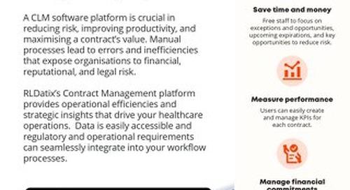RLDatix Contract Management Brochure
