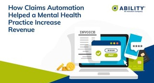 How Claims Automation Helped a Mental Health Practice Increase Revenue