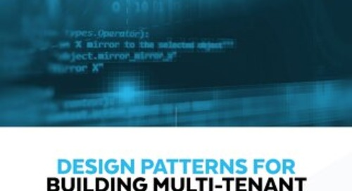 Design Patterns for Building Multi-Tenant Applications on Snowflake