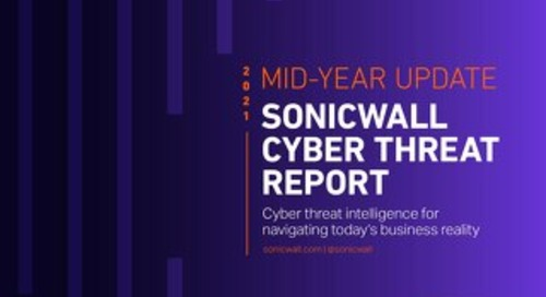 Sonicwall Cyber Threat Report-2021 Mid Year Update