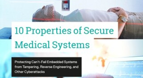 10 Properties of Secure Embedded Medical Systems