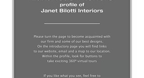 Luxurious Interiors - Janet Bilotti