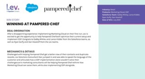Pampered Chef: Win Story