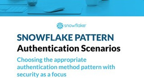 Snowflake Pattern - Security - Authentication