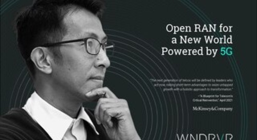 Open RAN for a New World Powered by 5G