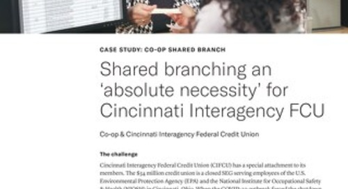 CIFCU Shared Branch Case Study