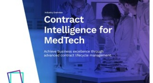 eBook | Contract Intelligence for MedTech